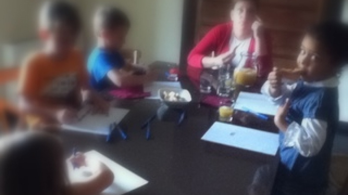 Sicily cooking class children